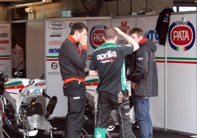 Caption This Photo: Find the Extra Two Seconds Aprilia pow wow 635x445