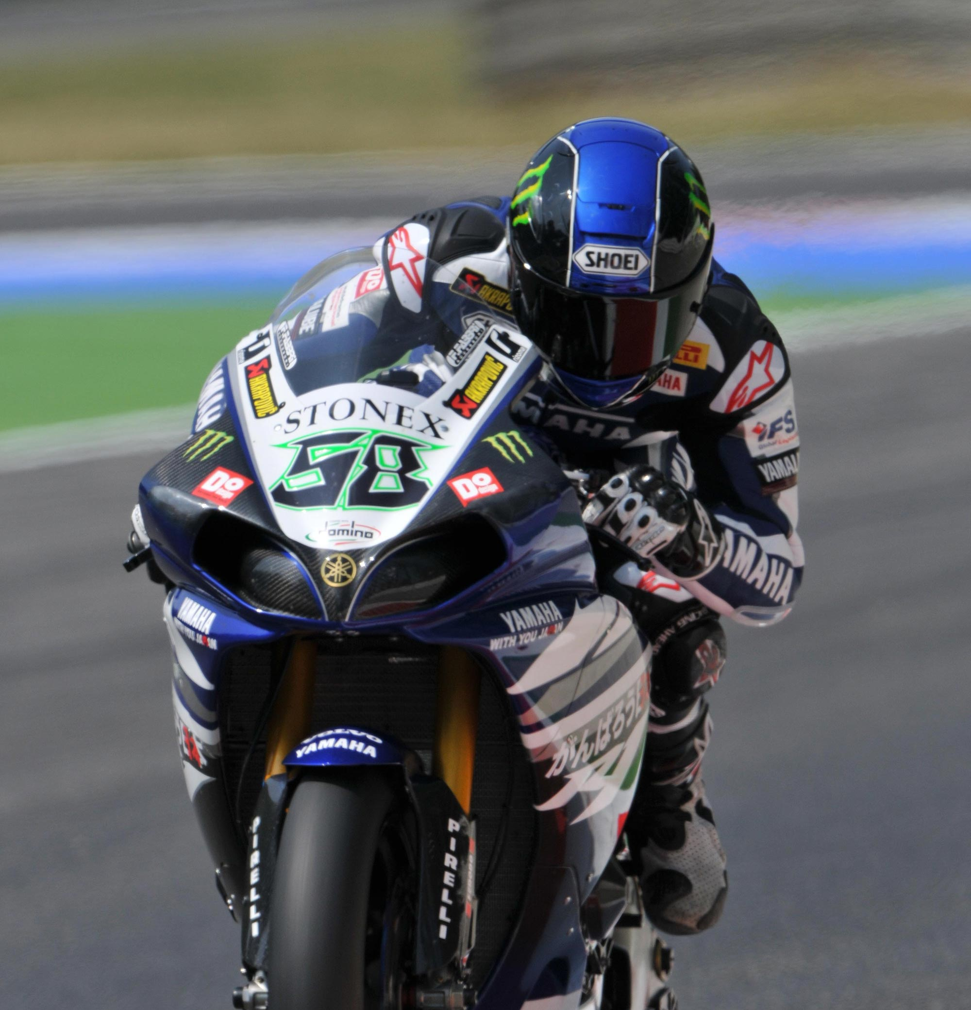 Wsbk duel ends in decisive victory for monza race 1 for Yamaha eugene or