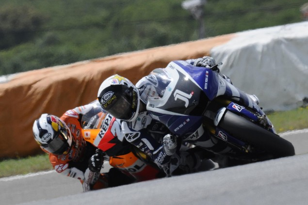 MotoGP: Patience Proves to be a Virtue at the Portuguese GP Jorge Lorenzo Dani Pedrosa Portuguese GP MotoGP 635x423
