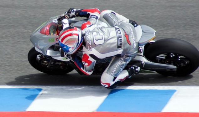 MotoCzysz Fielding Two Bikes at the Isle of Man TT MotoCzysz E1pc Laguna Seca 635x374