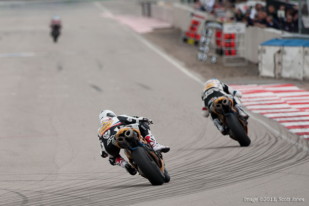 WSBK: Sunshine Blesses Race 1 at Miller Motorsports Park WSBK Race 1 MMP Scott Jones