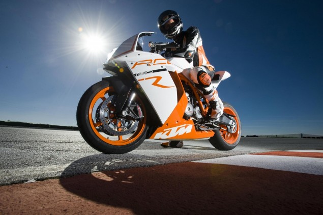 Ty Howard Flogs the 2011 KTM 1190 RC8 R 2011 KTM 1190 RC8 R 635x422