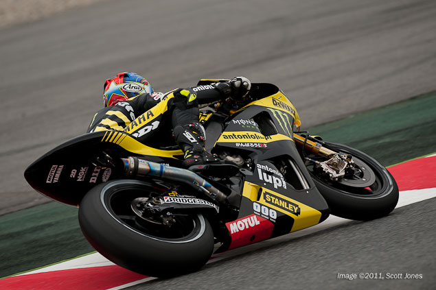 Catalunya Ends Colin Edwards 141 MotoGP Starting Streak Colin Edwards motogp catalunya scott jones