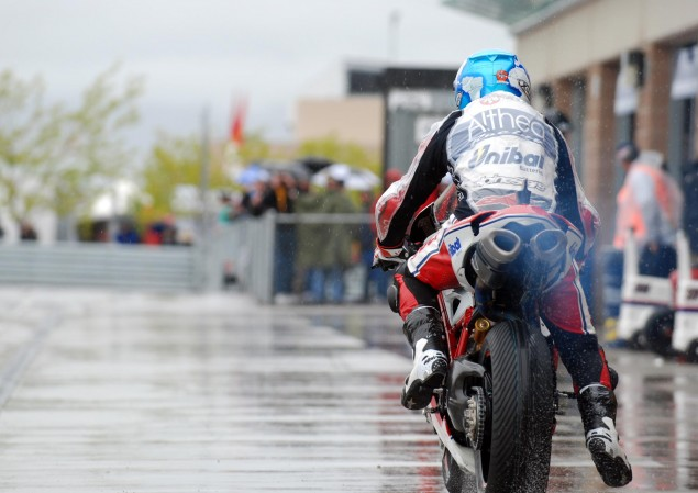 MotoGP Owners Looking to Buy World Superbike carlos checa water pit lane 635x449