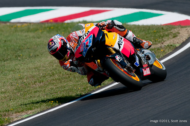 Casey Stoner on Developing the Honda RC213V Casey Stoner Mugello HRC Scott Jones