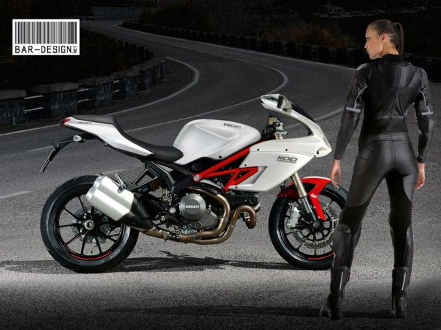 Ducati Considering SuperSport Model Ducati Supersport Luca Bar Design girl 635x476