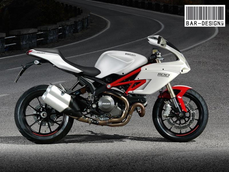 ducati supersport conceptluca bar - asphalt & rubber