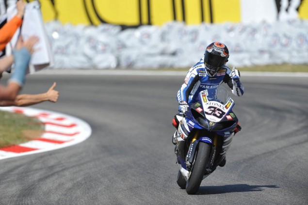 WSBK: Melandri Re Signs with Yamaha for 2012 melandi yamaha 635x422