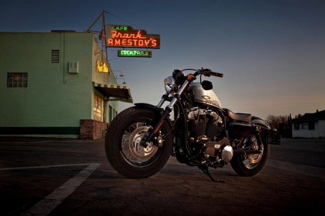 US Motorcycle Sales Flatten with 1.7% Half Year Growth 2011 Harley Davidson Forty Eight 635x423