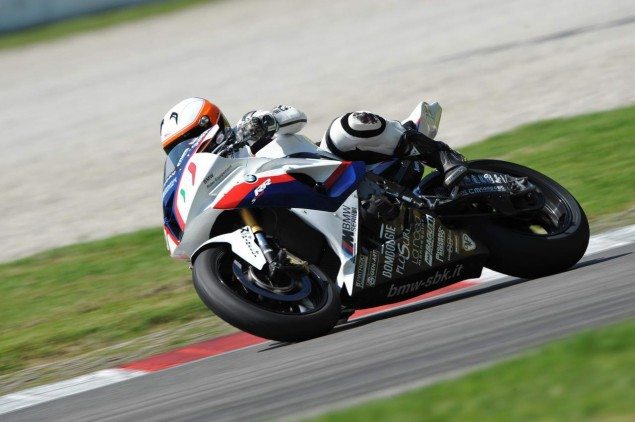 Ride Review: Riding the BMW S1000RR Superstock, Satellite Superbike, and Factory World Superbikes BMW S1000RR test Monza Barrier Superbike 7 635x422