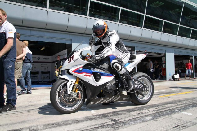 Ride Review: Riding the BMW S1000RR Superstock, Satellite Superbike, and Factory World Superbikes BMW S1000RR test Monza Haslam Superbike 5 635x423