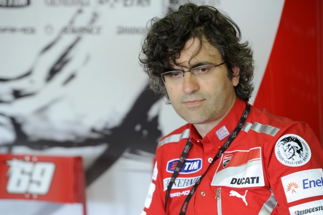 Filippo Preziosi: The Two Cylinder is the Best Engine, If Youre Not Constrained by Rules Filippo Preziosi Ducati Corse 635x423