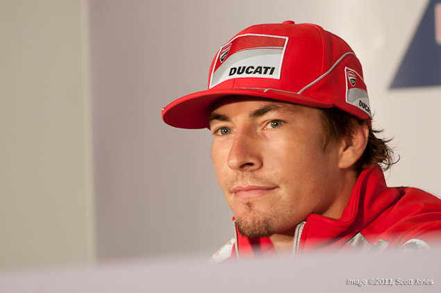Nicky Hayden: Nobody Has Lost Hope Nicky Hayden Laguna Seca Press Conference Scott Jones