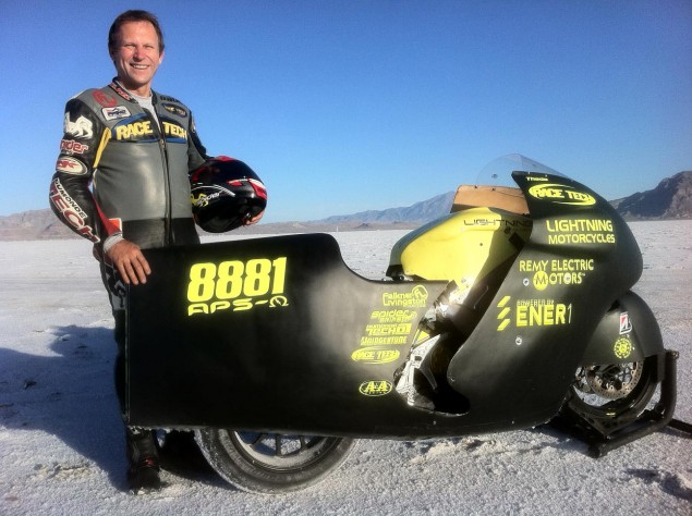 Bonneville: Lightning Motorcycles Sets a New Land Speed Record for Electric Motorcycles Paul Thede Lightning Motorcycles 635x474