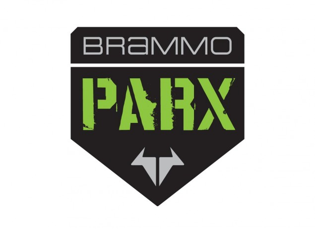 Brammo Acquires Electric Dirt Bike Park Company Quantyaparx   Aptly Renames it BrammoParx Brammo Parx logo 635x462