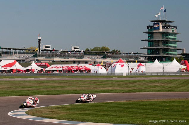 Dorna Renews Contract with Indianapolis   Three MotoGP Races Coming to the USA Indianapolis GP Scott Jones