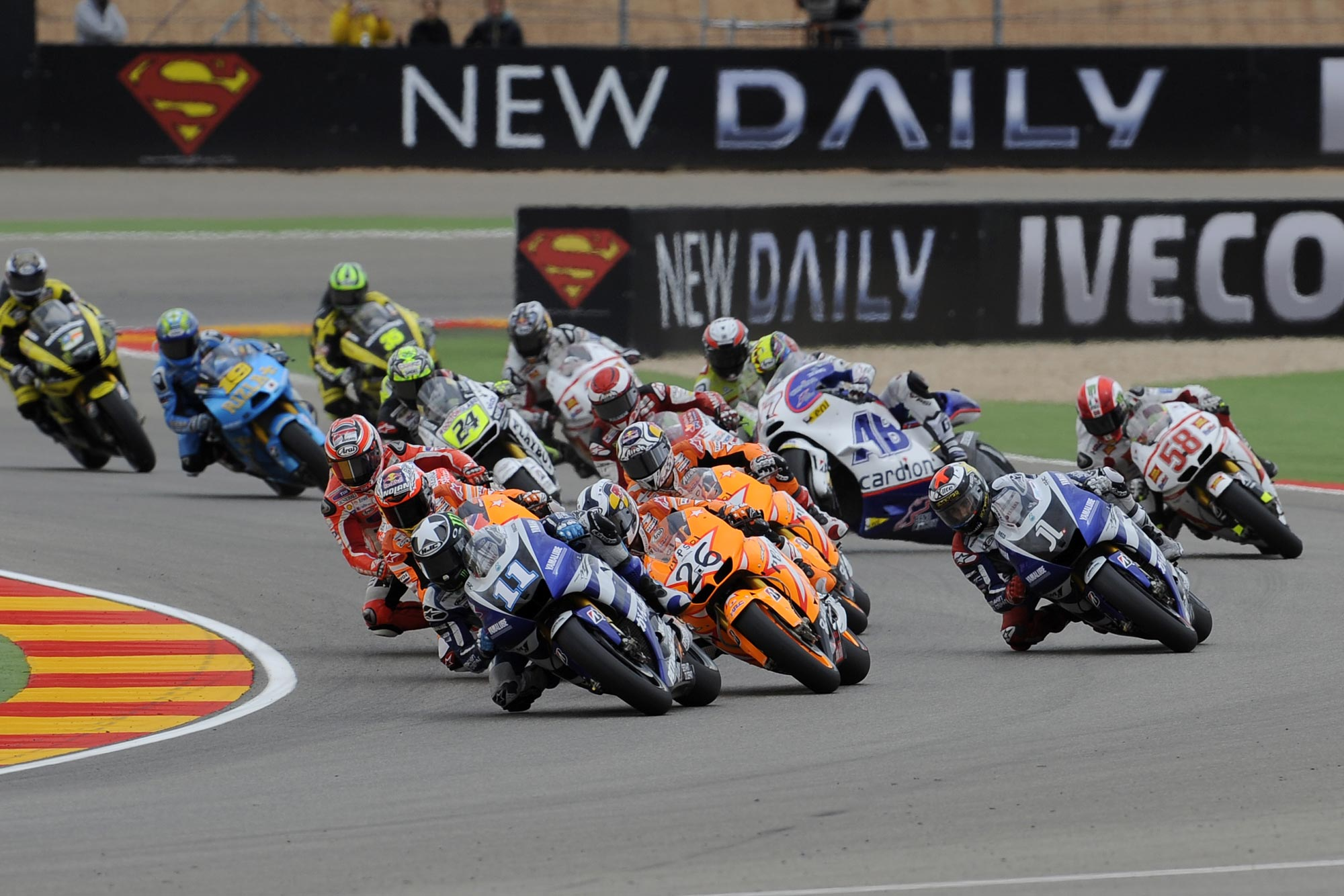 MotoGP: MotoGP Race Results from the Aragon GP - Asphalt & Rubber