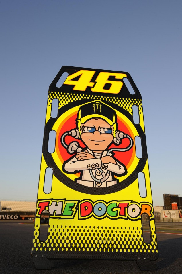 Valentino Rossi to Use Aluminum Chassis at Aragon GP Valentino Rossi MotoGP Aragon GP 3 635x952