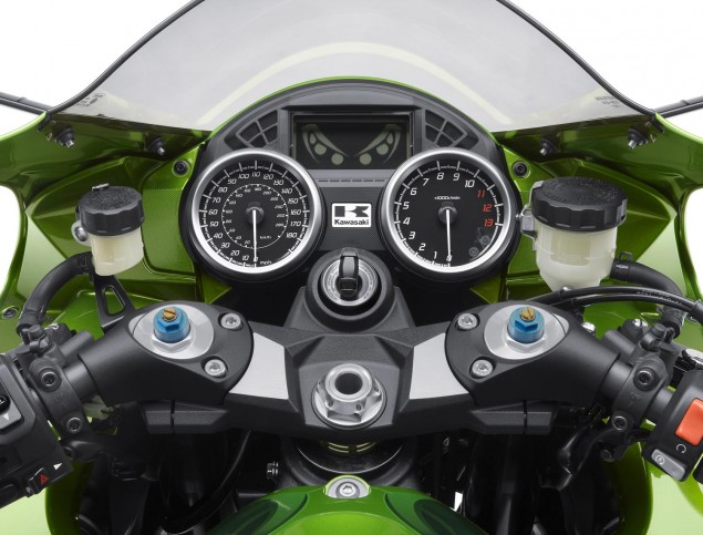 The 2012 Kawasaki ZX 14R / ZZR1400 Makes Under 200hp 2012 kawasaki zx 14r zzr1400 635x483