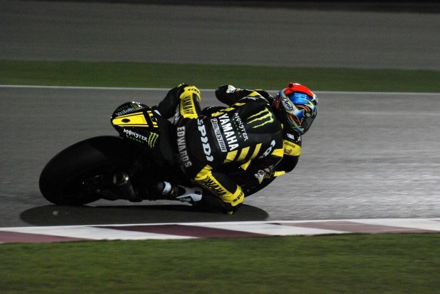 Colin Edwards Will Miss Valencian GP   Replacement? Colin Edwards Qatar Jensen Beeler 635x425