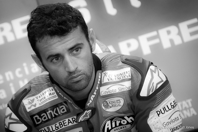 Aspar Drops Ducati for 2012 MotoGP Season Hector Barbera MotoGP Scott Jones