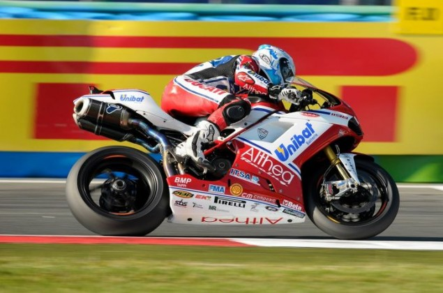 WSBK: Race 2 at Magny Cours Brings a Double, Dicing & Battling Teammates checa pirelli mc 635x420