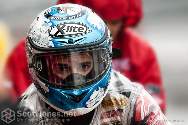 Photo of the Week: Olé! photo of the week Carlos Checa WSBK Champion Scott Jones