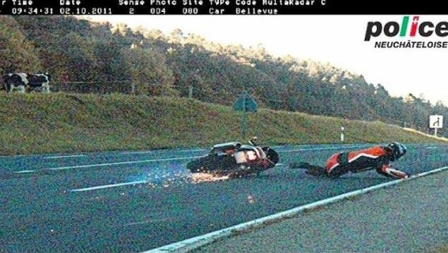 speed camera crash