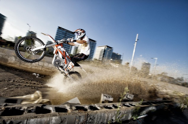 KTM Freeride E   OEMs Enter the Electric Motorcycle Fray 2012 KTM Freeride E 06 635x422