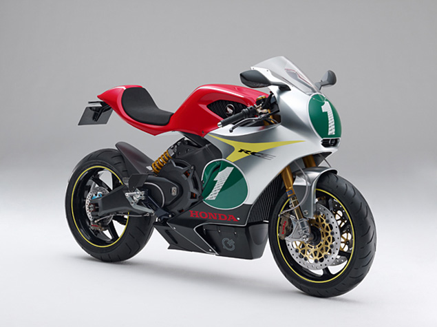 Honda RC E Concept to Debut at Tokyo Motor Show Honda RC E electric sportbike