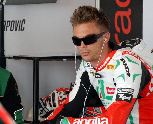 Crescent Suzuki Joins World Superbike with Leon Camier Leon Camier WSBK MMP Jensen Beeler 635x515