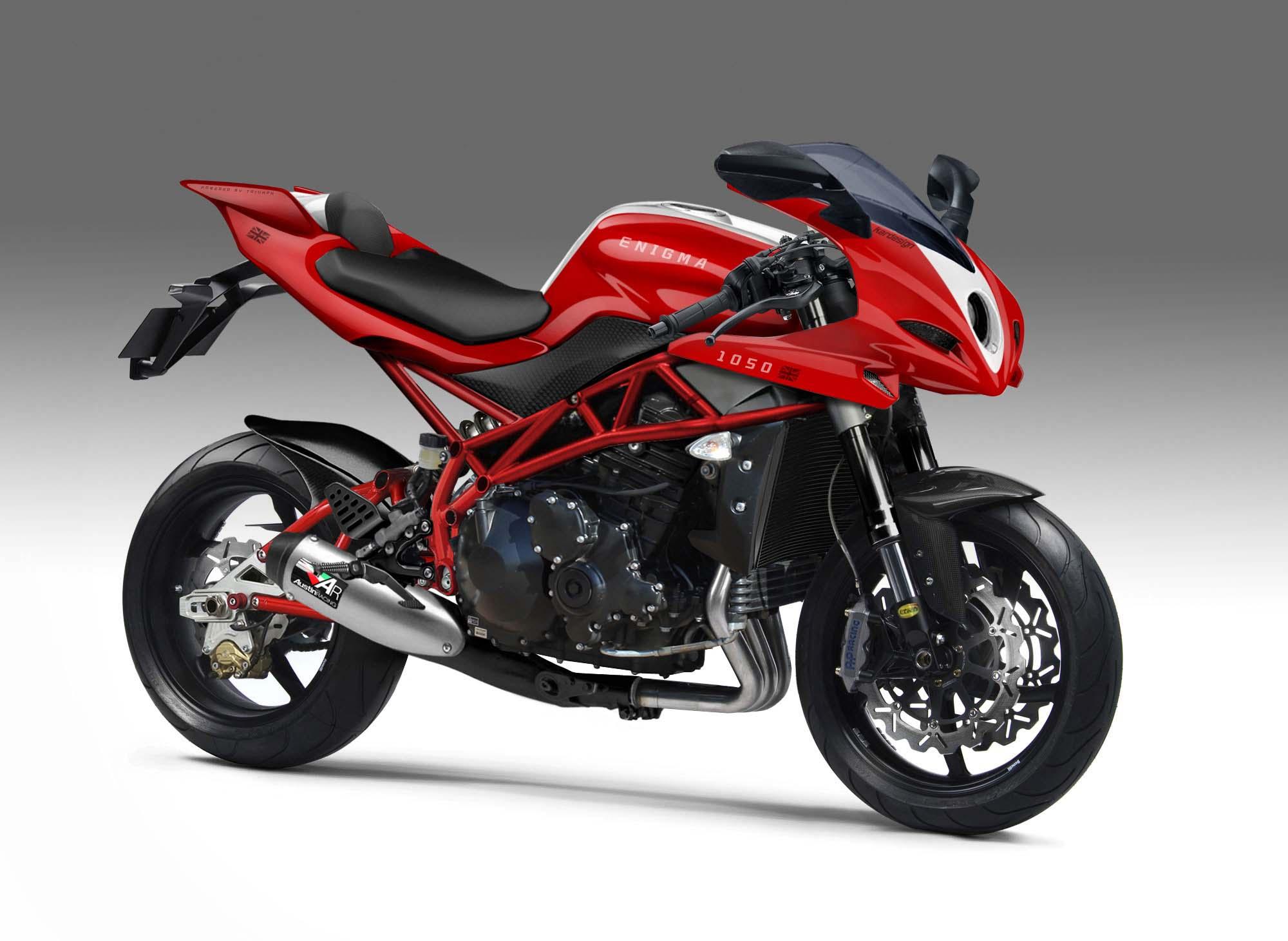 new 1050 motor based sport bike  enigma   triumph forum