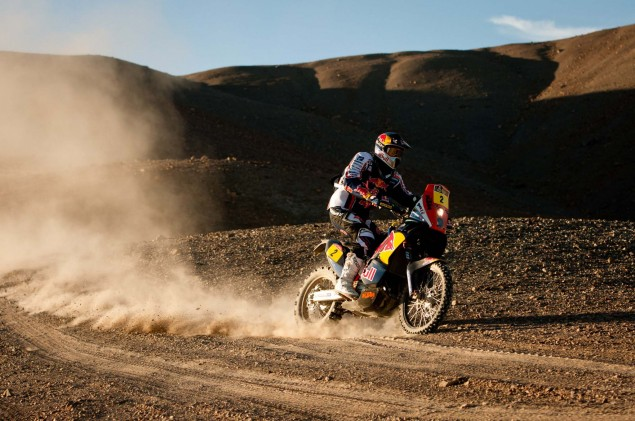 Cyril Despres Wins Fourth Dakar Rally Title Cyril Despres KTM Dakar Rally 2012 29 635x421