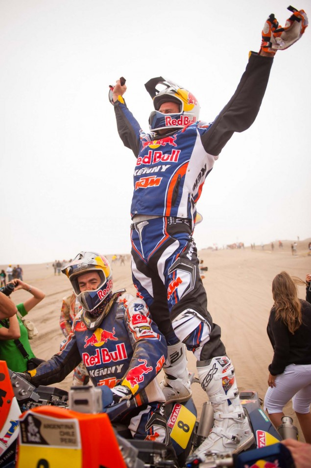 Cyril Despres Wins Fourth Dakar Rally Title Cyril Despres KTM Dakar Rally 2012 42 635x954