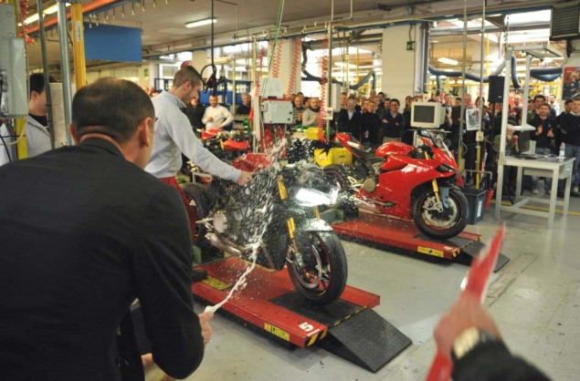 Why Today is the Most Important Day for Ducati...Ever Ducati 1199 Panigale assembly line factory 02 635x418