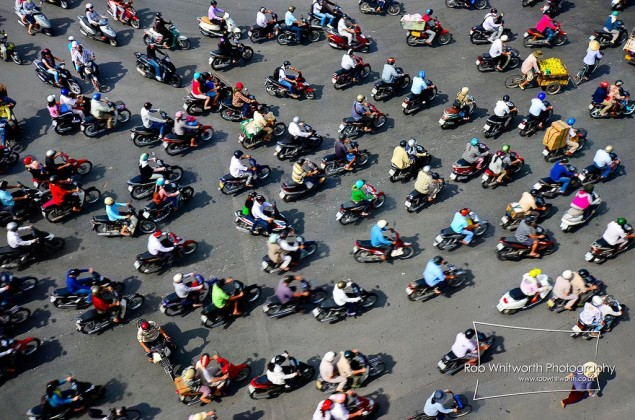 Video: Traffic in Ho Chi Minh City Ho Chi Minh City time lapse Rob Whitworth 635x420