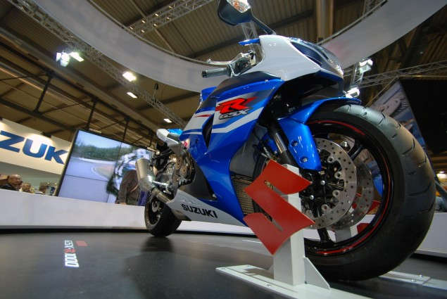 American Suzuki Expects 9.8% Sales Decrease for Fiscal Year 2012 Suzuki GSX R1000 EICMA 635x425
