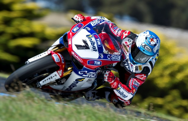 WSBK: Race Results for Race 2 at Phillip Island Carlos Checa WSBK Phillip Island 2 635x409