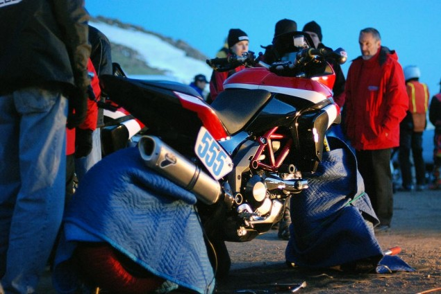 Pikes Peak International Hill Climb 2011   The Ducati Story Ducati Pike Peak International Hill Climb 2011 warmers 635x424
