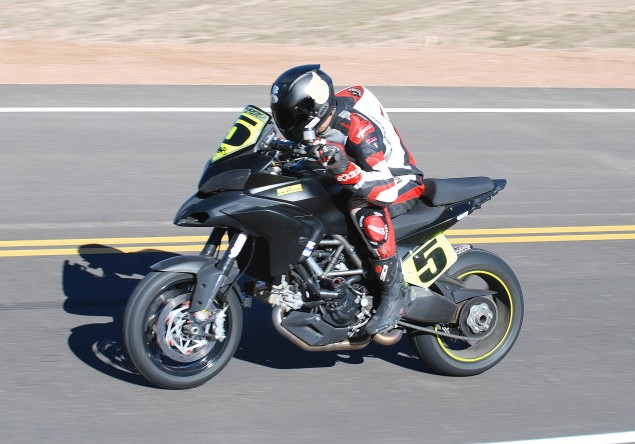Ducati Announces Pikes Peak International Hill Climb Team with Carlin Dunne & Greg Tracy Ducati Pikes Peak Carlin Dunne 635x444