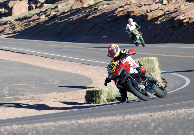 Ducati Announces Pikes Peak International Hill Climb Team with Carlin Dunne & Greg Tracy Ducati Pikes Peak Greg Tracy 1 635x444
