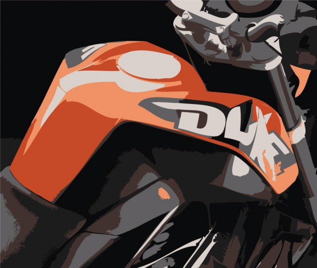 KTM Sales up 22.4% in 2011 Thanks to India KTM 125 Duke illustraion 635x536