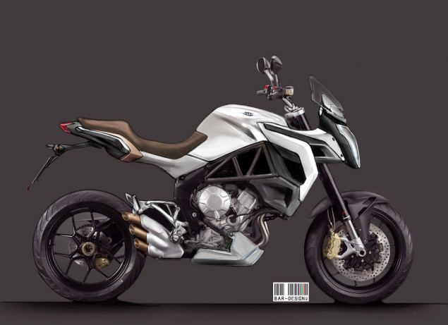 MV Agusta Rivale by Luca Bar Design MV Agusta Rivale Luca Bar Design 03 635x461