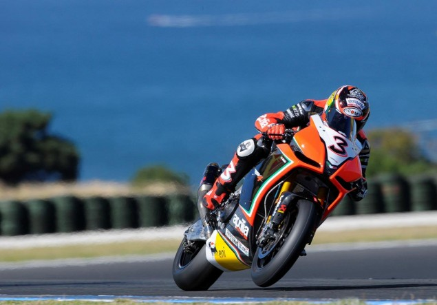 WSBK: Race Results for Race 1 at Phillip Island Max Biaggi WSBK Phillip Island 635x443