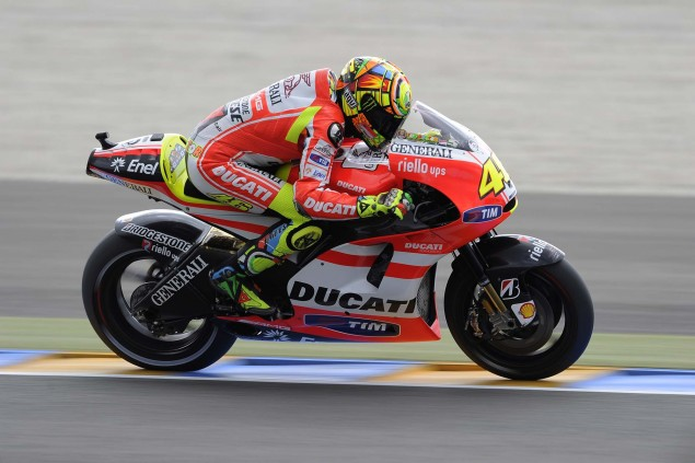Stoner & Rossis Ducati MotoGP Bikes up for Auction Ducati Corse RM Auction Valentino Rossi GP11 VR2 04 635x423