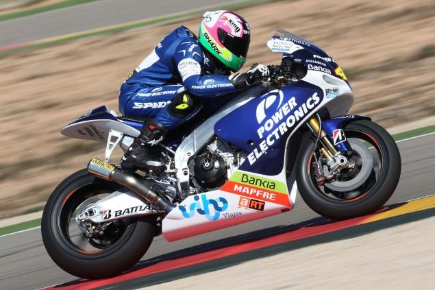 Aspar Racings Aprilia Designed CRT MotoGP Bike Power Electronics Aspar Aprilia ART MotoGP CRT 07 635x423