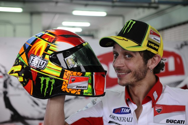 Project 46, AGV Standards, & Rossis New Helmet Valentino Rossi AGV Standards Project 46 helmet 01 635x423