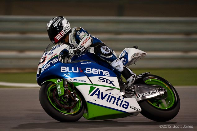 MotoGP: Avintia Blusens Switches to Carbon Frame BQR Blusens Avintia Qatar Scott Jones