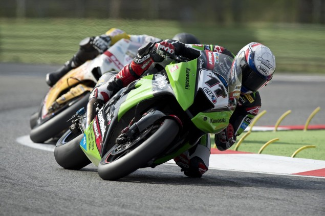 WSBK: Update on Joan Lascorzs Condition Joan Lascorz Kawasaki WSBK 635x422