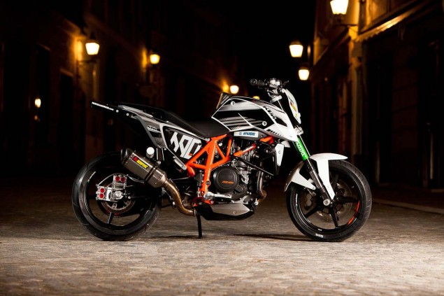 Rok Bagorošs New KTM 690 Duke Stunt Bike Rok Bagoros KTM 690 Duke stunt bike 12 635x423